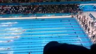 London 2012 Olympics- Men's 4x100 Freestyle Swimming Relay