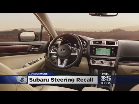 ConsumerWatch: Subaru Steering Recall