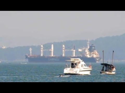 CS CAROLINE PORT OF SANTOS SHIPSPOTTING AUGUST 2020 #29