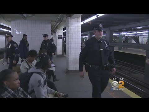 Neighborhood Coordination Officers Take To NYC Subways