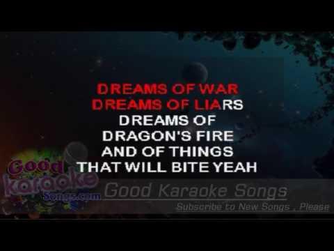 Enter Sandman -  Metallica (Lyrics Karaoke) [ goodkaraokesongs.com ]