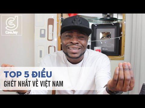 Những điều Cee Jay ghét nhất ở Việt Nam