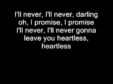 Justin Nozuka - Heartless + lyrics