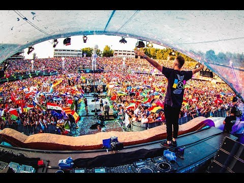 Nicky Romero  at Tomorrowland Mainstage 2018