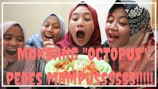 MUKBANG OCTOPUS! PEDESSSS MAMPUSSSS!!!!! | Pratiwi Kristyarini