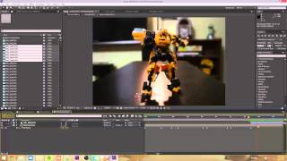 After Effects Stop-Motion Tutorial 3 - Extending Animation