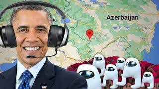 Obama Gaming Sus Town Speedrun