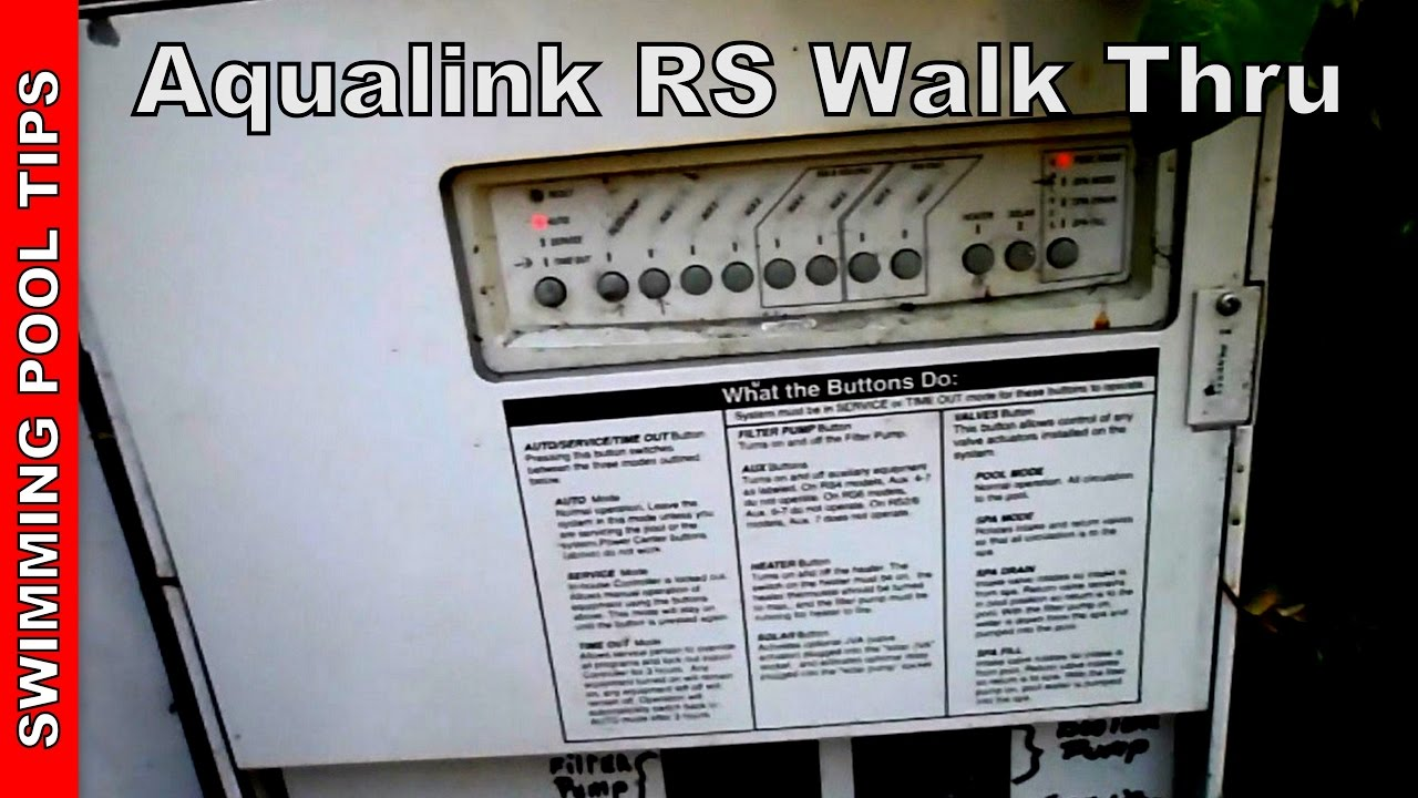 aqualink rs by zodiac walk thru and demo youtube rh youtube com Basic Electrical Wiring Diagrams Wiring Diagram Symbols