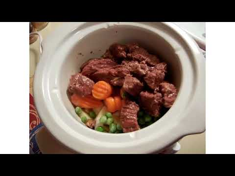how to make beef stew in a crock pot youtube