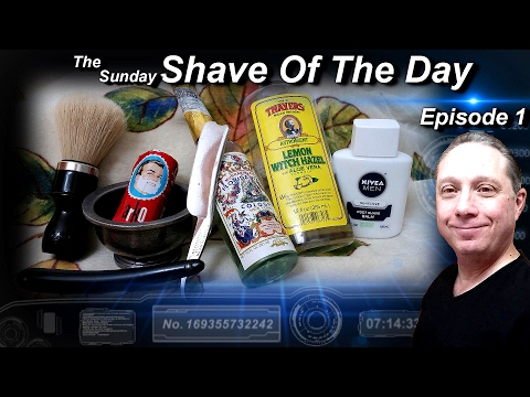 Vintage WB-FGU Straight Razor Shave, Shave Of The Day, ARKO, The Sunday #SOTD Ep1