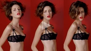 ceft and company: never underdressed ad with model cris herrmann director karen collins Thumbnail
