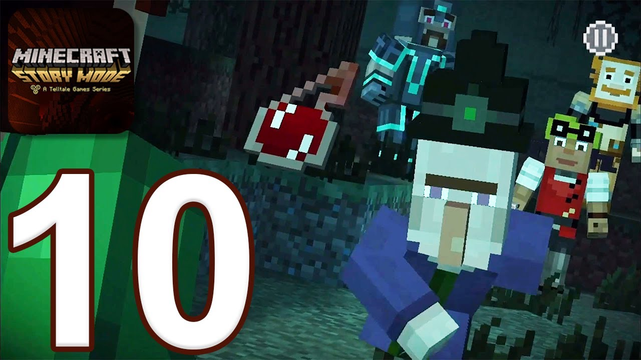 Download Minecraft: Story Mode - Gameplay Walkthrough Part 10 - Episode 4 (iOS, Android)
