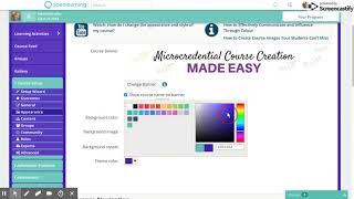 V6B: Easy Course Creation on OL