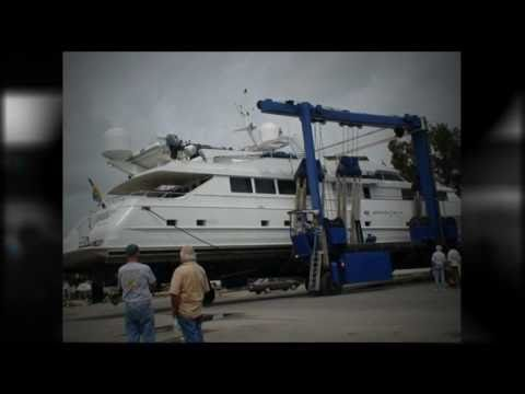 Marine Surveyor - Audiogauge Survey  Broward Yacht