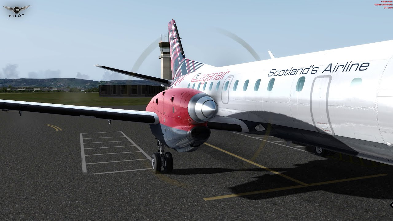[Prepar3d V4] Carenado Saab S340 | Full Review  Q8pilot 19:03 HD