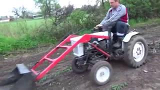 Mini Traktor Sam i opielacz własnej roboty. Despacito ale robotę zrobi