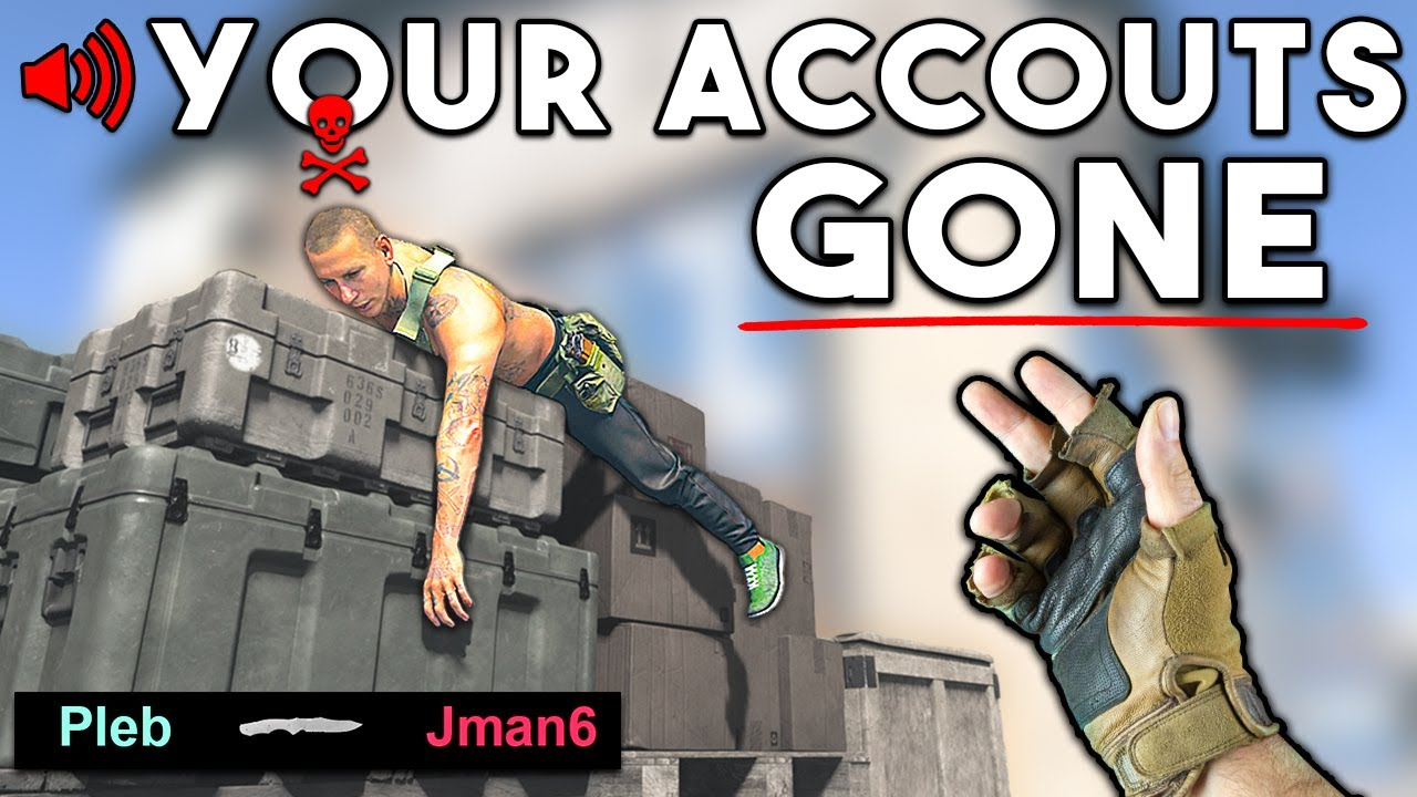 """YOUR ACCOUNTS GONE"" 🤬 (Warzone Funny Moments and BEST Moments #117)"