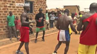 Repeat youtube video Uganda's Kickboxer