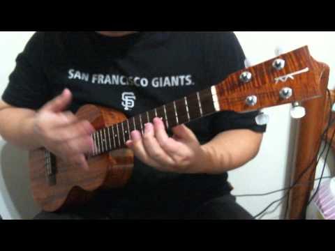 Nothing but the Blood ( ukulele solo )