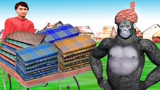 लुंगी वाला Lungi Dance Gorilla Dance Funny Video | Hindi Kahaniya Bedtime Storie | Hindi Fairy Tales