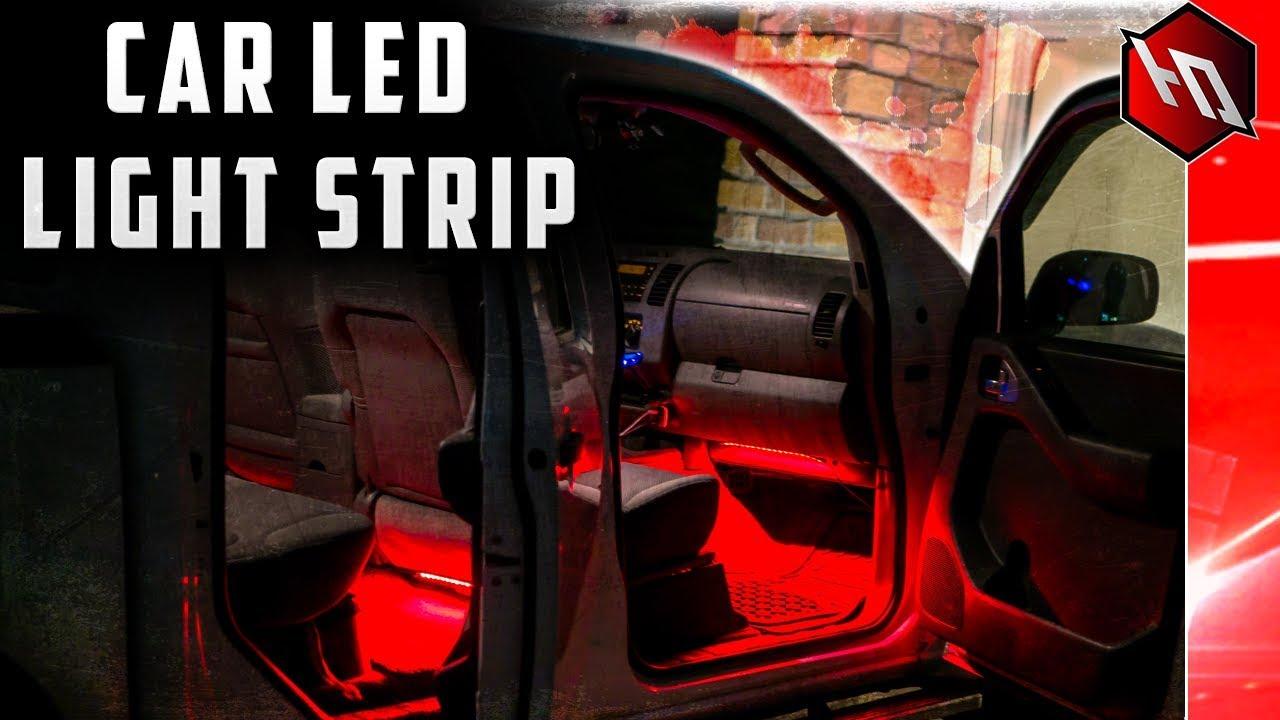 INTERIOR CAR LED LIGHTS!! (From Minger)