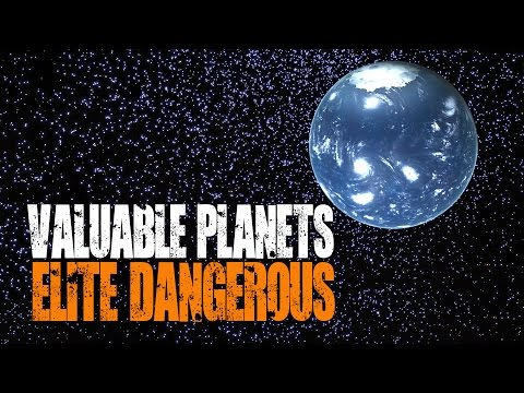 Elite: Dangerous - How to Find Valuable Planets (Terraformable, Earth-Likes and Water Worlds)