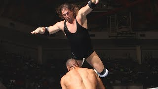 Braden Walker soars from the top rope in clash with Armando Estrada: ECW, July 8, 2008 (WWE Network)
