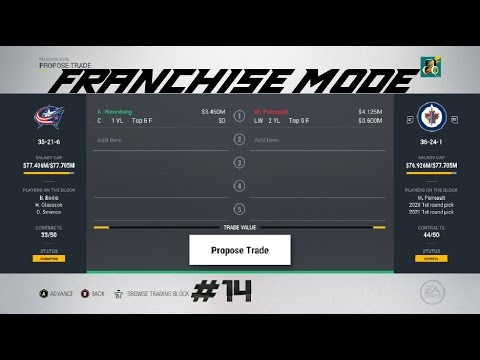 Top of the Metro? - Columbus Blue Jackets Franchise Mode NHL 17 (#14)