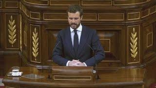 """Casado no ve sincera la oferta de pacto de Sánchez para """"tapar su """"fracaso"""""""