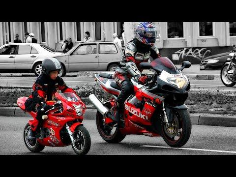😃 Отцы и Дети на Мотоциклах ✊!