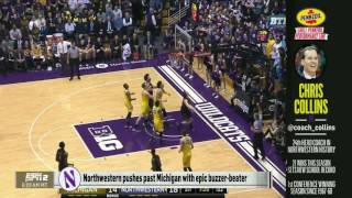 Men's Basketball - Collins on Mike & Mike (3/2/17)