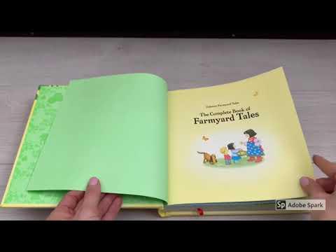The Complete Book Of Farmyard Tales -Usborne