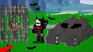 BATMAN CAPTURO A MI HIJO NOOB 😱 - MINECRAFT TROLL