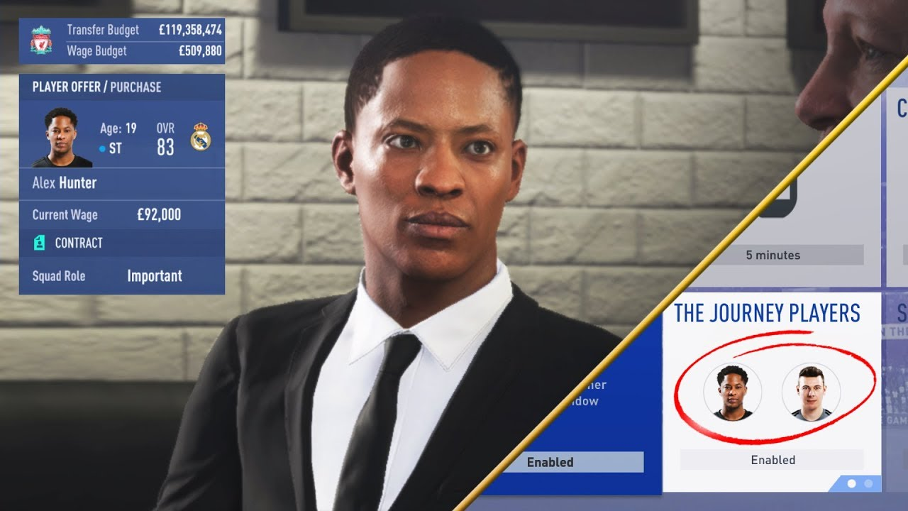 9092c824db7 HOW TO SIGN ALEX HUNTER IN FIFA 19 CAREER MODE!!! (THE JOURNEY ENDING)