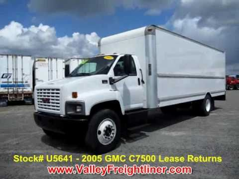 box trucks for sale 26ft gmc box truck 14 900 youtube. Black Bedroom Furniture Sets. Home Design Ideas