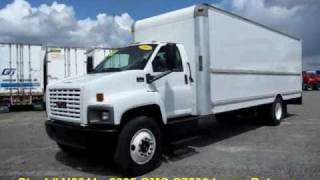 Box Trucks for sale - 26ft GMC Box Truck - $14,900
