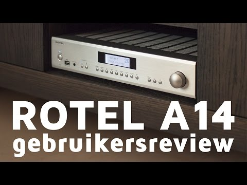 Rotel A14 gebruikersreview