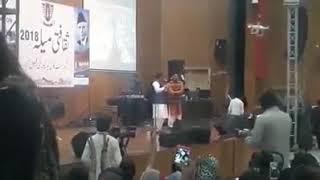 Mushtaq Cheena At GCUF