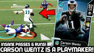 CARSON WENTZ SHREDS UP THE DEFENSE! Madden 20 Ultimate Team