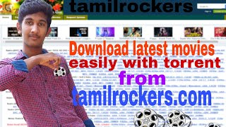 How to download latest movies from tamilrockers / easy free download / malayali master /