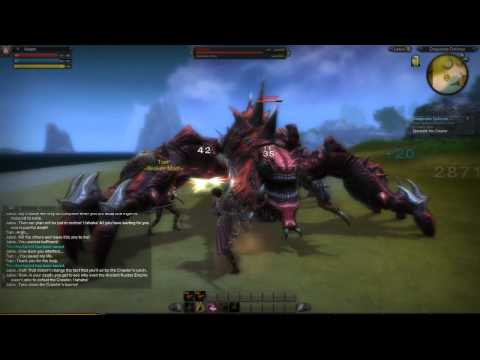 RaiderZ - Crawler Boss Quest - Xelash