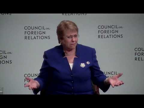 Clip: Chile's Michelle Bachelet on Women in Media