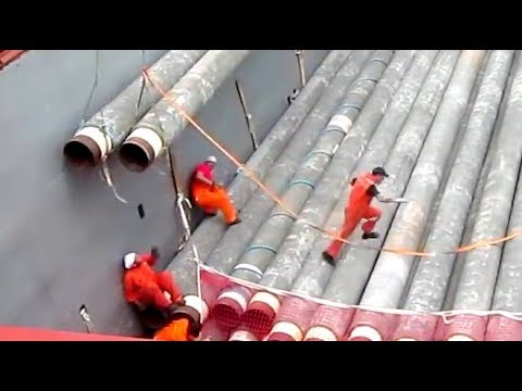 IDIOTS AT SEA - Offshore Pipelay Crane FAILURE ACCIDENT