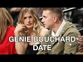 Genie Bouchard Date  Pays off Super Bowl Bet Bet at Nets Games
