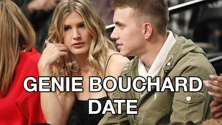 Baixar Genie Bouchard Date  Pays off Super Bowl Bet Bet at Nets Games