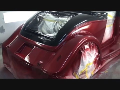How To Blend Straight Lines Car Paint