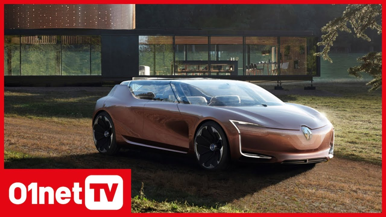 renault symbioz l incroyable voiture autonome qui s int gre dans le salon youtube. Black Bedroom Furniture Sets. Home Design Ideas