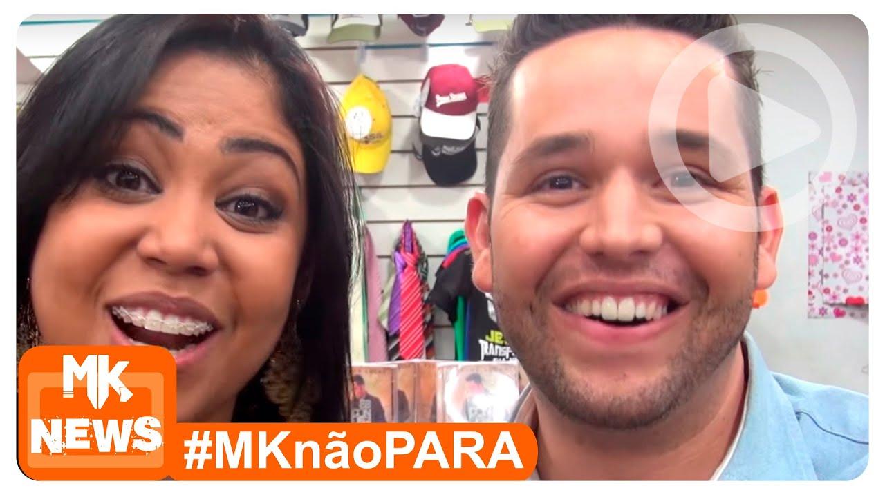 Gisele Nascimento e Pr. Lucas - Tarde de Autógrafos (#MKnãoPARA)