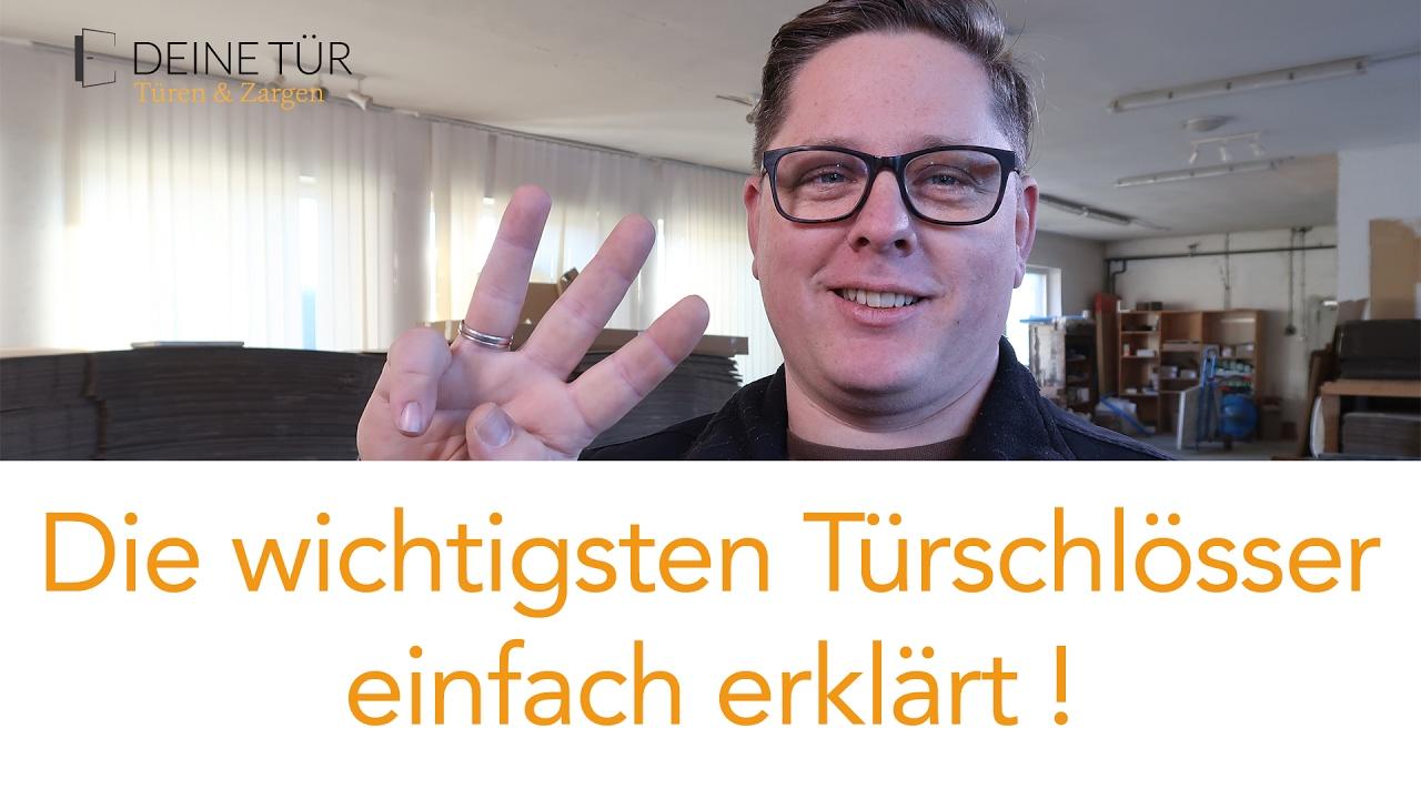 Tur Schloss Arten Pz Schloss Buntbart Wc Schloss Erklart Youtube