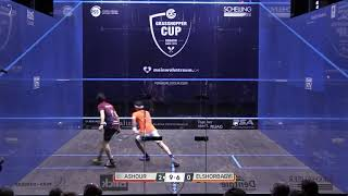 Backhand volley drop - Ramy